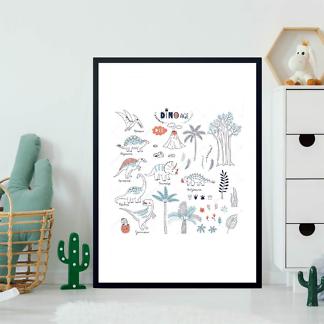Постер Динозавры и природа  - фото 2