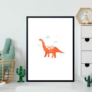 Постер Красный динозавр  - фото 2
