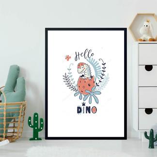Постер Новорожденный динозаврик  - фото 2