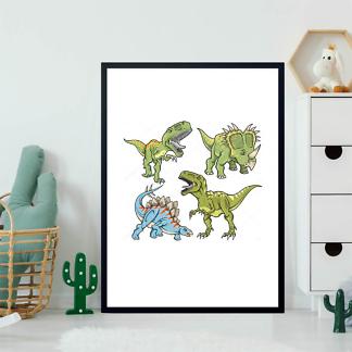 Постер Решительные динозавры  - фото 2