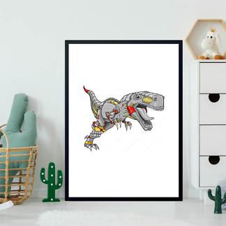 Постер Большой динозавр  - фото 2