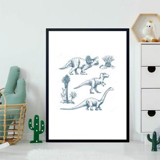 Постер Три динозавра  - фото 2