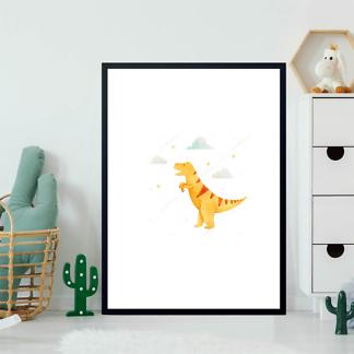 Постер Желтый динозавр  - фото 2