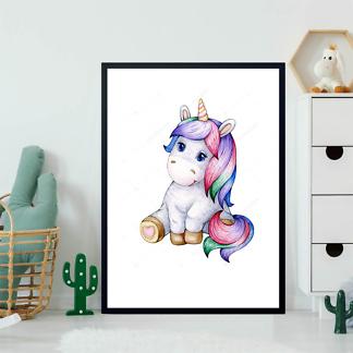 Постер Малыш Единорог  - фото 2