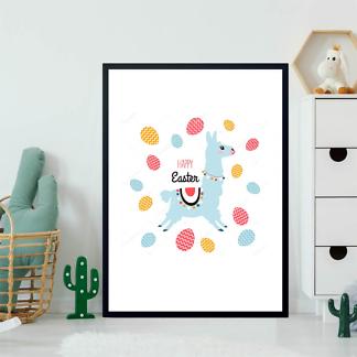 Постер Пасхальная лама  - фото 2