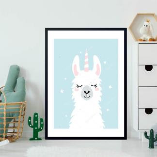 Портрет ламы единорога  - фото 2
