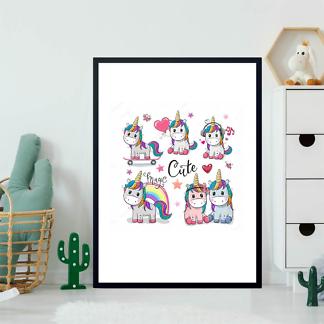 Постер Милые Единороги  - фото 2