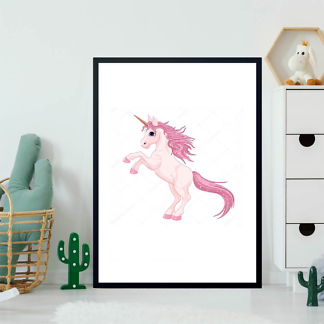 Постер Мультяшный Единорог  - фото 2
