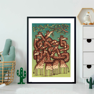 Постер Игра Жирафов в лабиринт  - фото 2