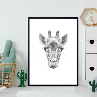 Портрет жирафа  - фото 2