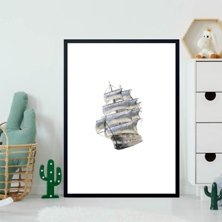 Картина Морской корабль  - фото 2