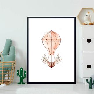 Картина Воздушный шар розовый  - фото 2