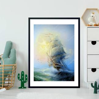 Картина Морской пейзаж  - фото 2