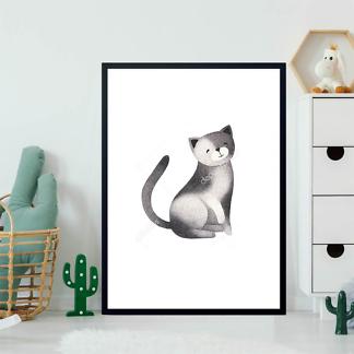 Постер Кот — 3  - фото 2