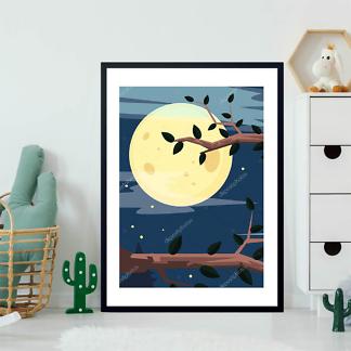 Постер Ночной лес  - фото 2