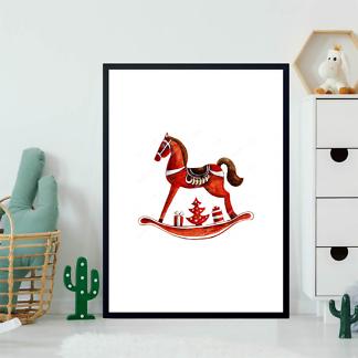 Постер Игрушка-лошадь  - фото 2