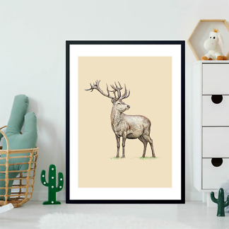 Постер Красивый олень  - фото 2