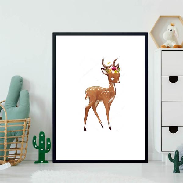 Постер Летний олененок  - фото 2