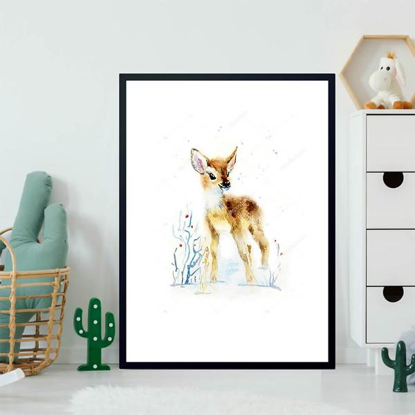 Постер Зимний олененок  - фото 2