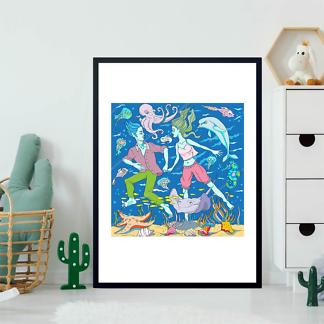 Постер Морская пара  - фото 2