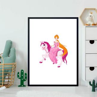 Постер Принцесса на пони  - фото 2