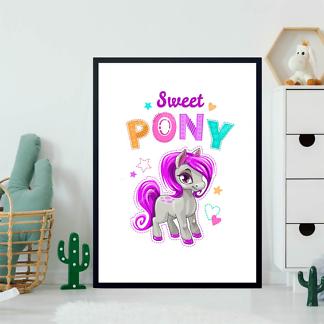 Постер Милый пони  - фото 2
