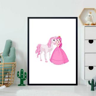 Постер Принцесса с лошадью  - фото 2