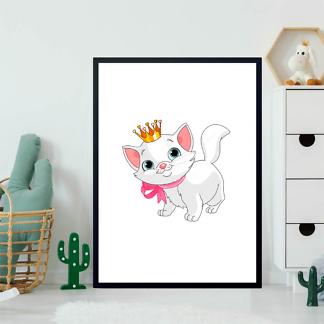 Постер Кошечка в короне  - фото 2