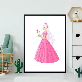 Постер Принцесса с розой  - фото 2