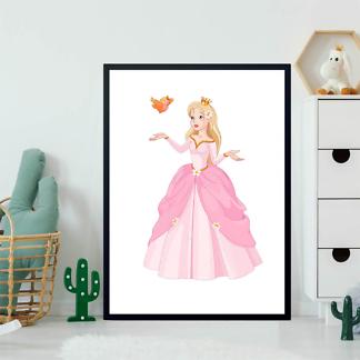 Постер Принцесса с птичкой  - фото 2