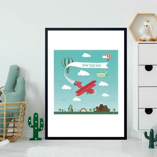 Постер Ретро самолет  - фото 2