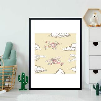 Постер Рисунок самолетов  - фото 2