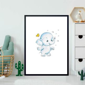 Постер Слон и мыльные пузыри  - фото 2