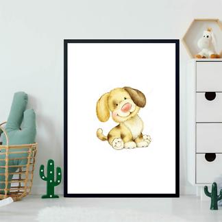 Постер Смешной щенок  - фото 2