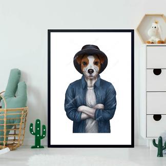Постер Терьер в шляпе  - фото 2