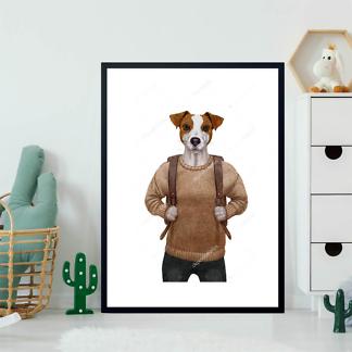 Постер Терьер в свитере  - фото 2