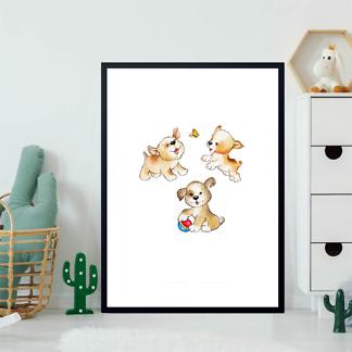 Постер Три милых щенка  - фото 2