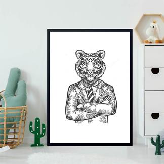 Постер Решительный тигр  - фото 2