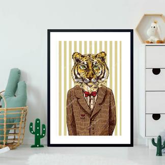 Постер Тигр в пиджаке  - фото 2