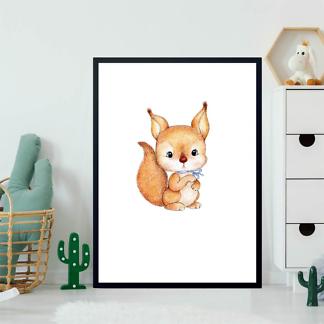Постер Белка для ребенка  - фото 2