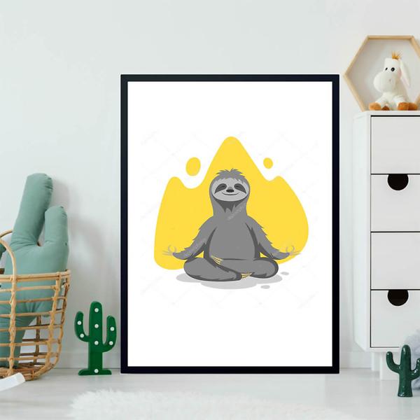 Постер Ленивец  - фото 2