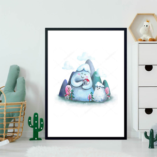Горы в детскую  - фото 2