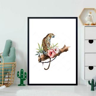 Постер Ягуар на ветке  - фото 2