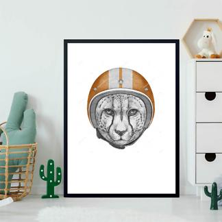 Постер Ягуар в шлеме  - фото 2