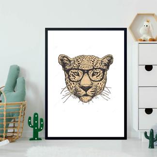 Постер Ягуар в очках  - фото 2