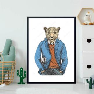 Постер Ягуар в пиджаке  - фото 2