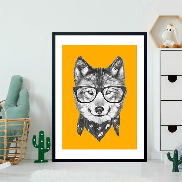 Постер Модный волк  - фото 2