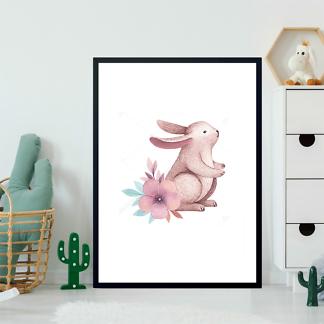 Постер Сиреневый кролик — 1  - фото 2
