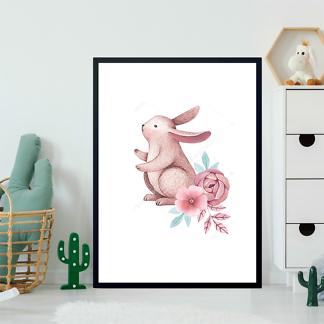 Постер Сиреневый кролик — 2  - фото 2