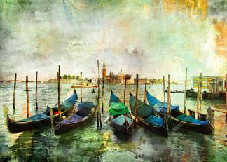Картина гондолы  - фото